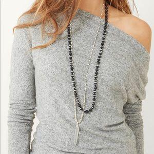 Stella&Dot 3 in 1-Rayna Pendant Necklace